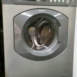 Silver Washer Dryer