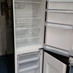 Open Black Freezer